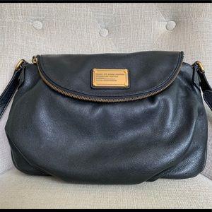 Marc Jacobs CLASSIC Q NATASHA Black Crossbody Bag